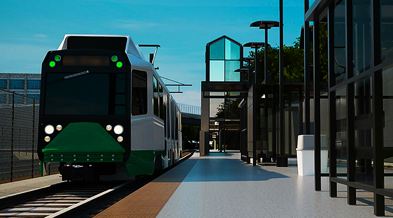 Green Line Extension rendering